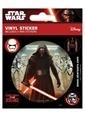 Pyramid International Etiket - Star Wars Episode VII Kylo Ren Renkli